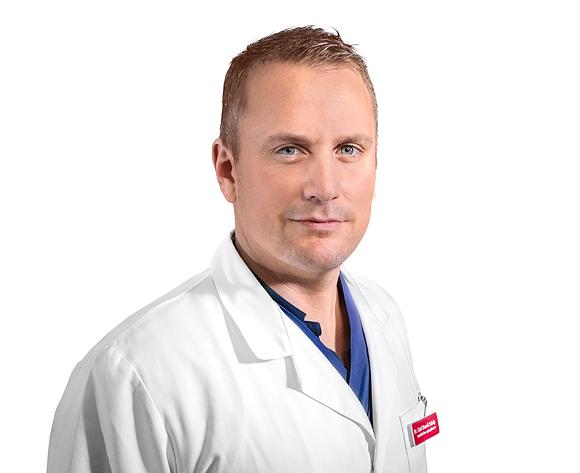 Dr. Carl Henrik Schelp är kärlkirurg på Conturkliniken i Stockholm