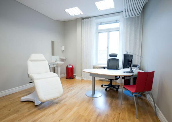 kontor på conturkliniken